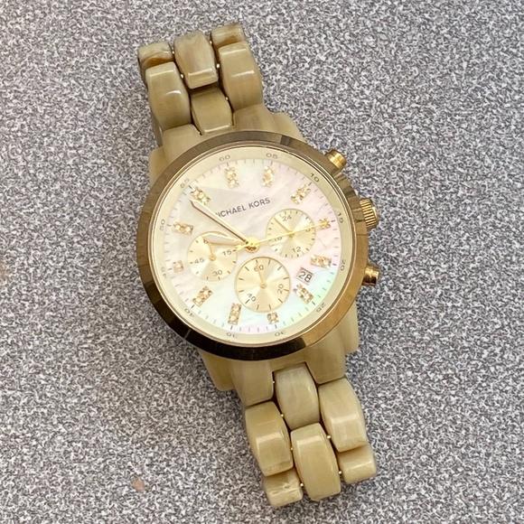Michael Kors Gold Accent Watch